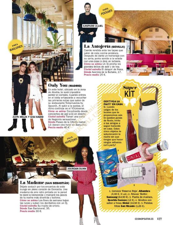 Cosmopolitan Mayo 2017