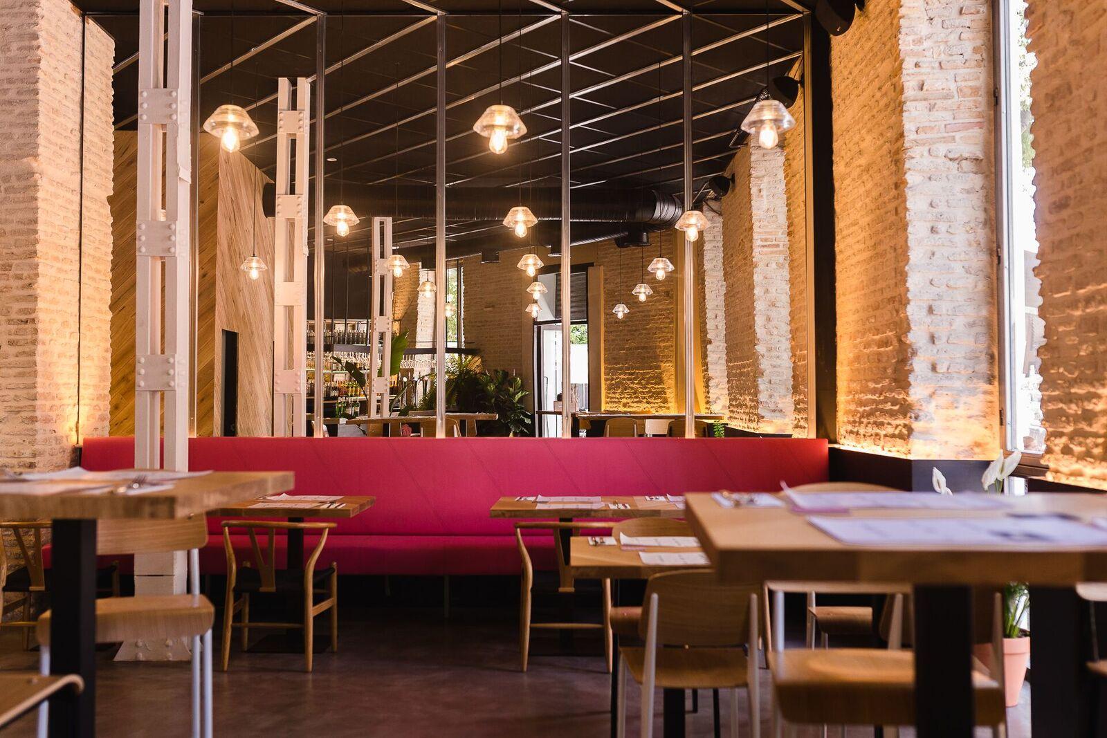 Interior restaurante la antojeria